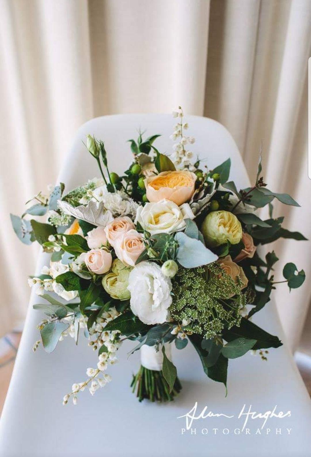 Wedding Bouquet by Wildflower Mudgee